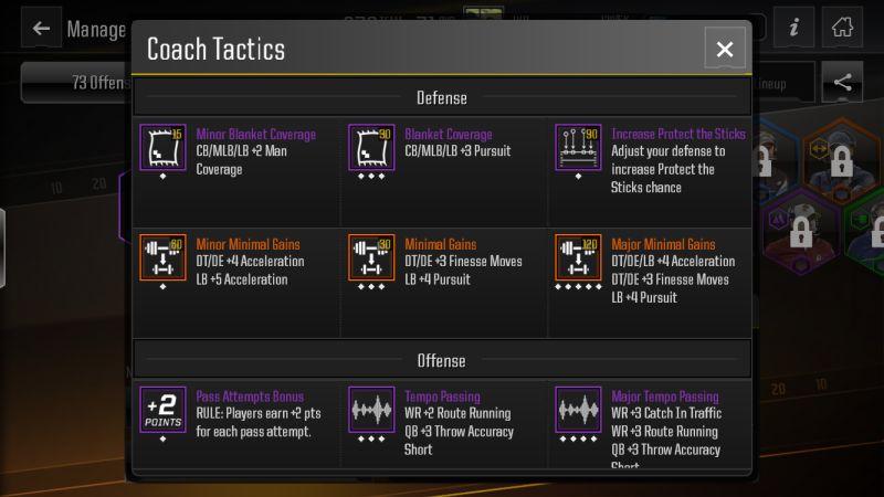 madden nfl overdrive tactics guide