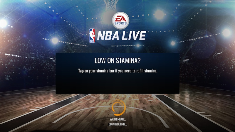 nba live mobile season 3 stamina
