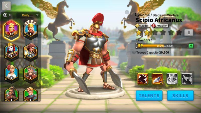 rise of civilizations main commander