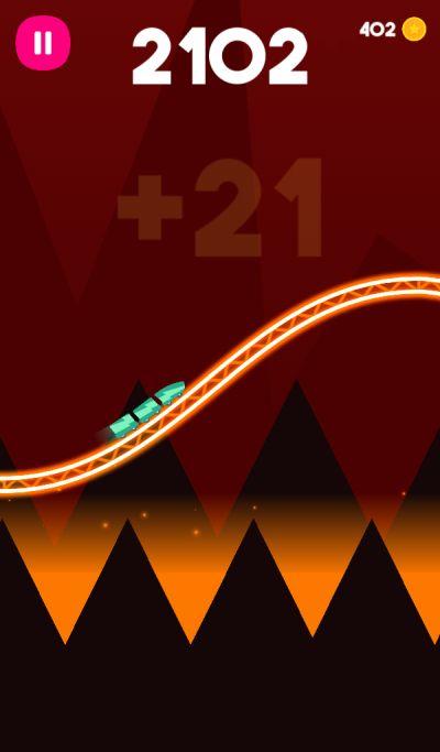 rollercoaster dash high score