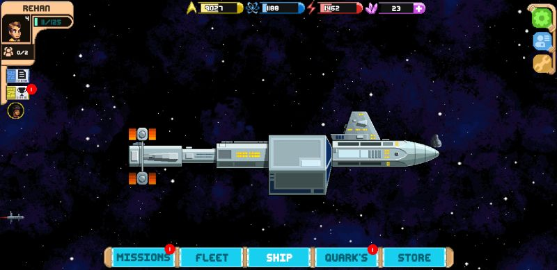 star trek trexels ii ship