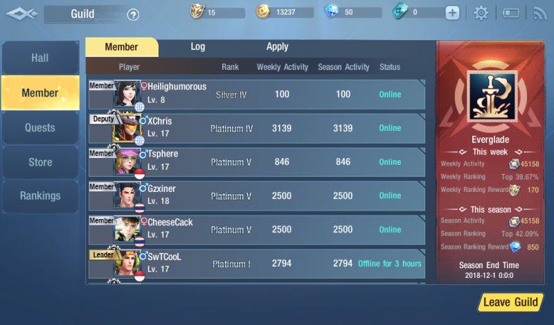 survival heroes guild