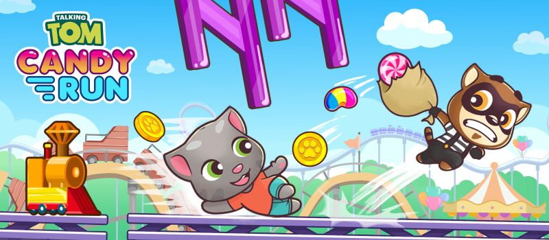 talking tom candy run guide