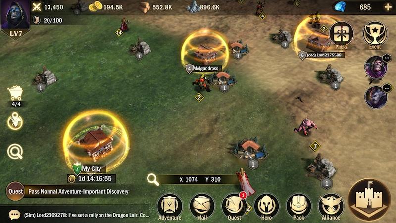 titan throne battle tips
