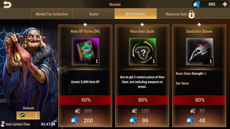 titan throne black market