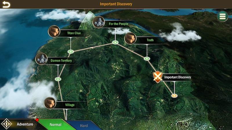 titan throne map
