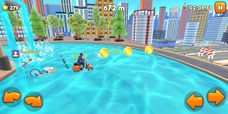 how to earn more coins in uphill rush new york