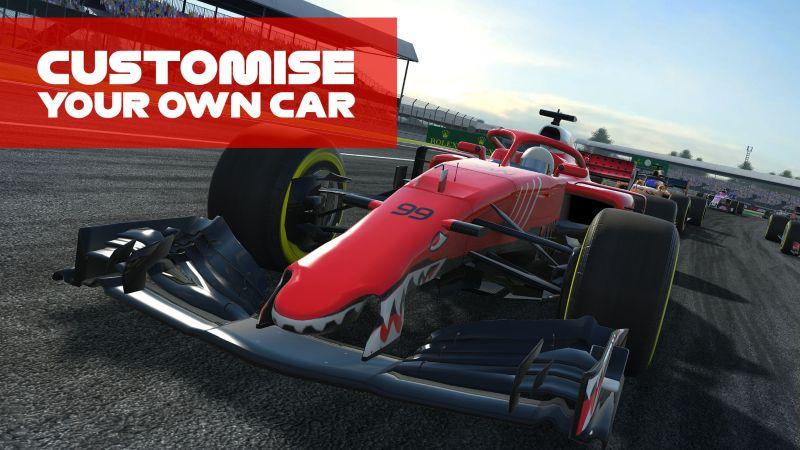 f1 mobile racing tricks