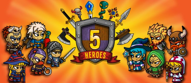 five heroes the king's war guide