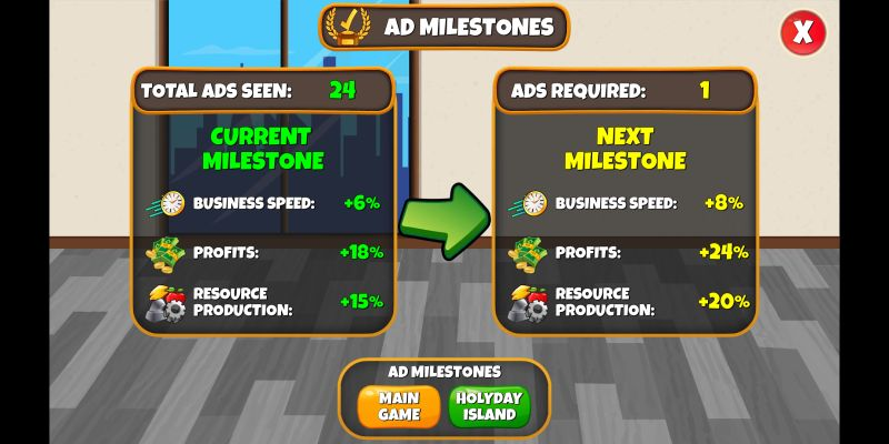 holyday city tycoon tricks