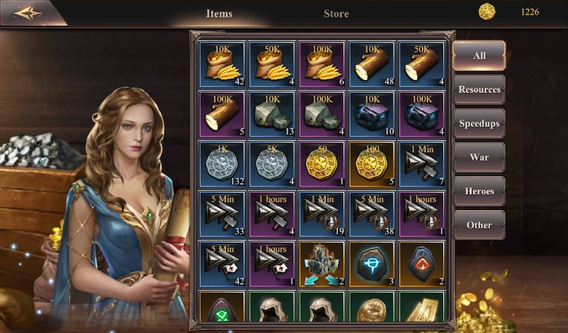 lord of war items