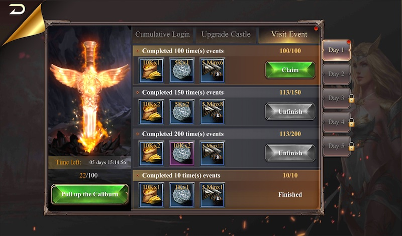 lord of war quests and events
