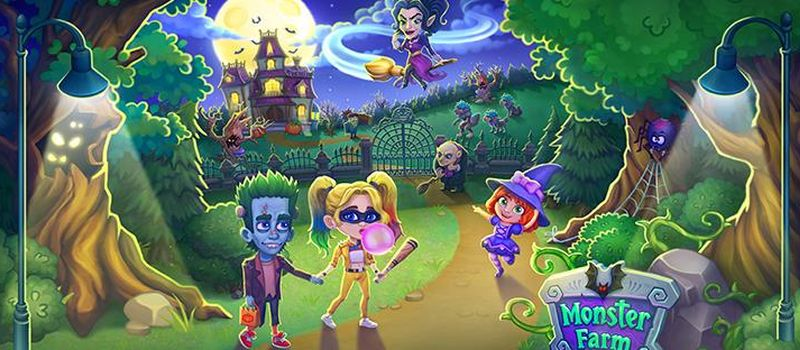 monster farm happy halloween game and ghost village guide