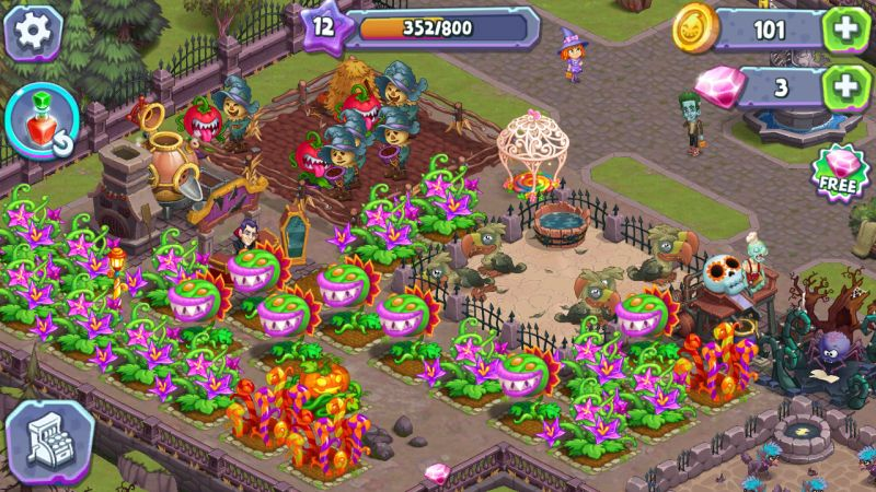 monster farm happy halloween game and ghost village tips