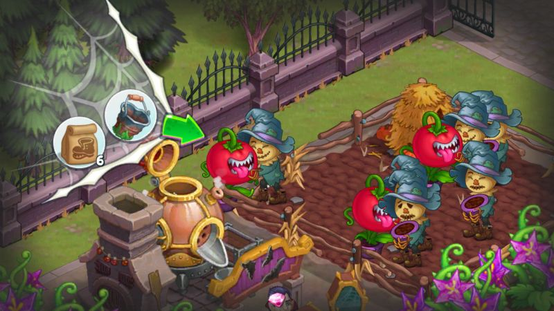 monster farm happy halloween game and ghost village cheats