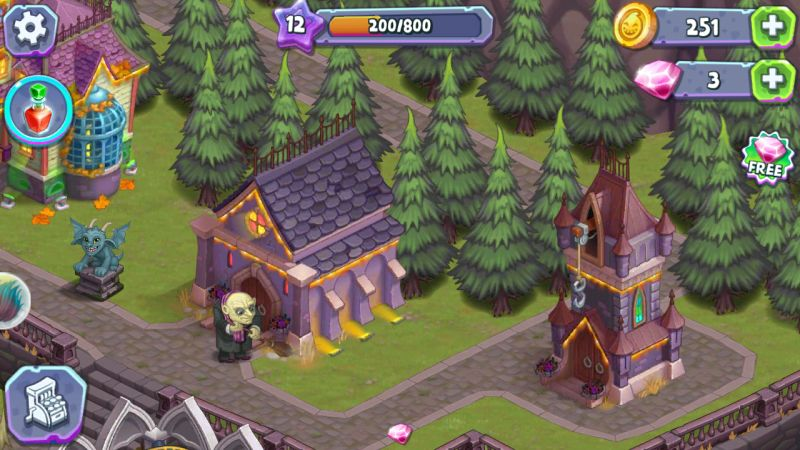 monster farm happy halloween game and ghost village tricks