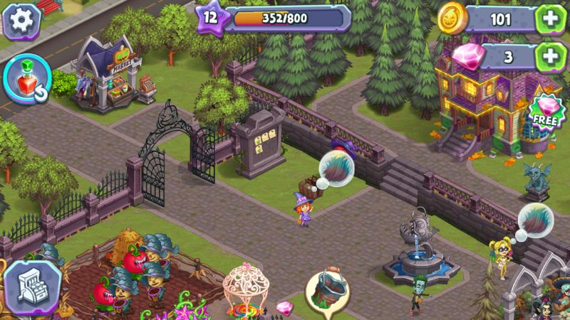 monster farm happy halloween game and ghost village hints