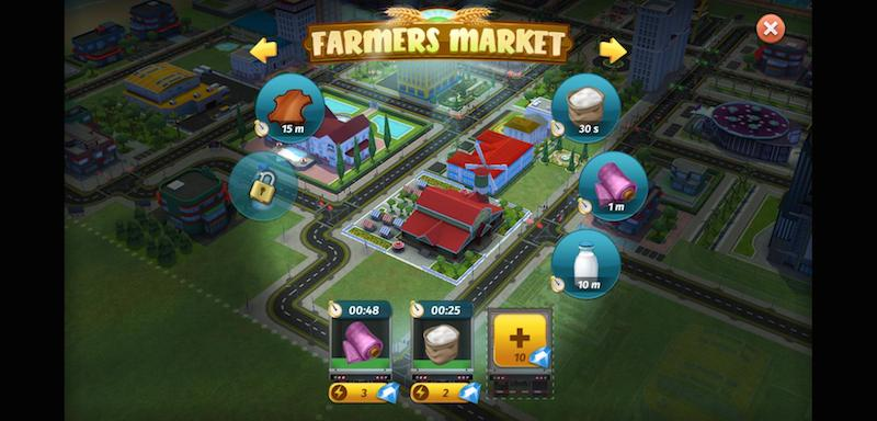 my city entertainment tycoon farmers market