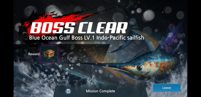power fishing boss battle
