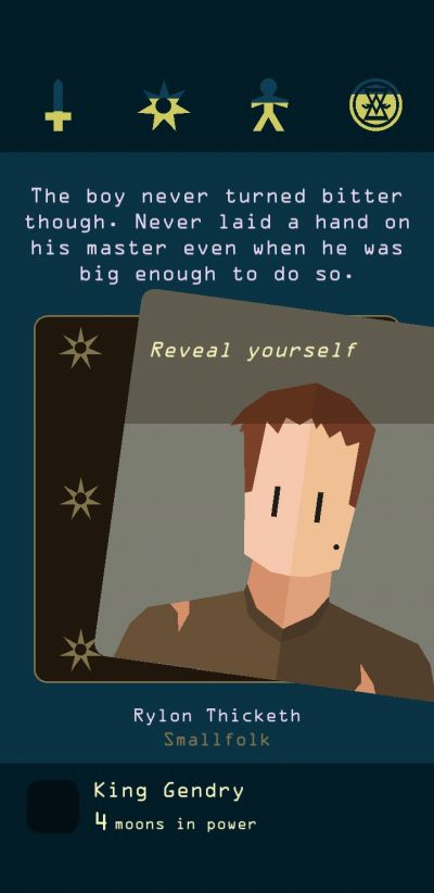 reigns game of thrones gendry special abilities