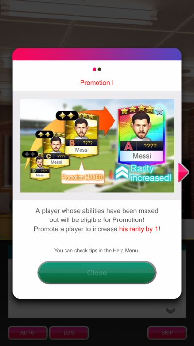 sega pocket club manager player promotion