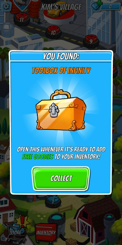 tap empire toolbox of infinity