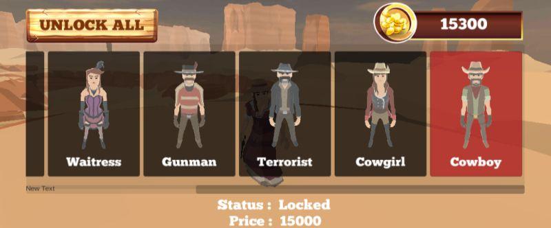 west battle royale characters