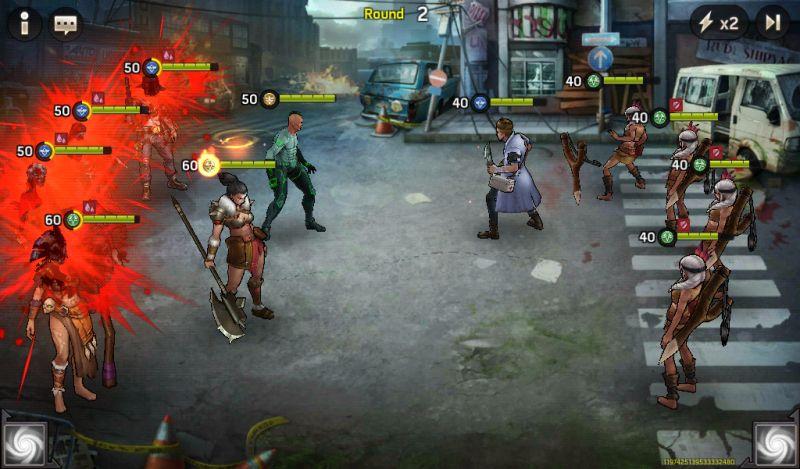 zombie strike best battle formation
