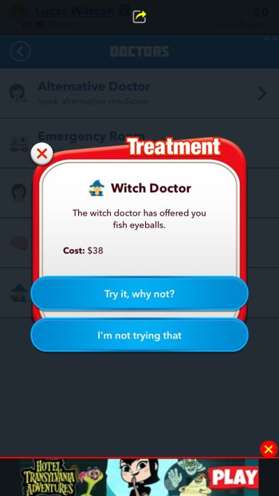 bitlife witch doctor