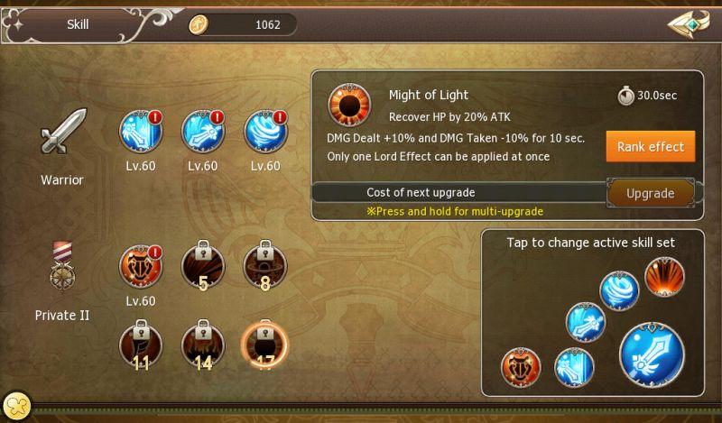 crown four kingdoms skills and talents