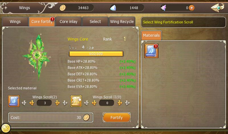 crown four kingdoms wings and mounts