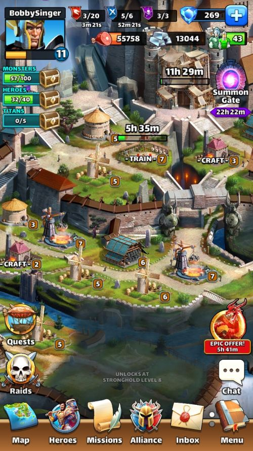 empires & puzzles rpg quest tips