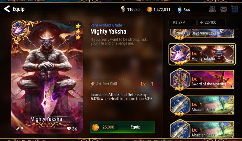 epic seven character build