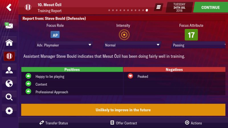 football manager 2019 mobile hints