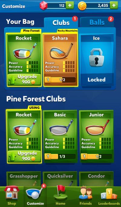 golf battle hints