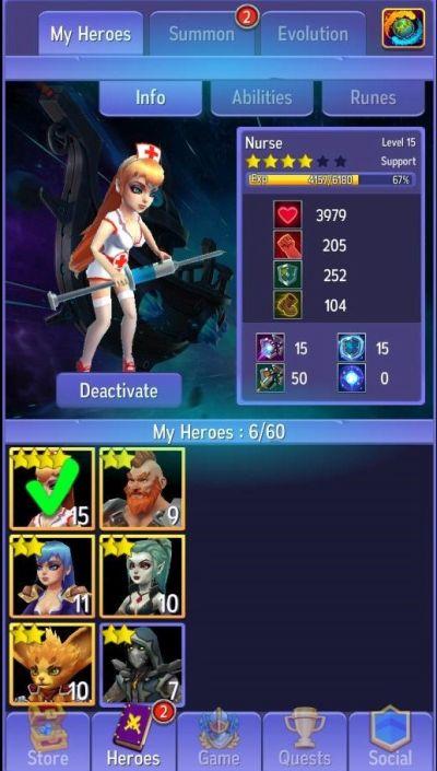 hero masters cheats