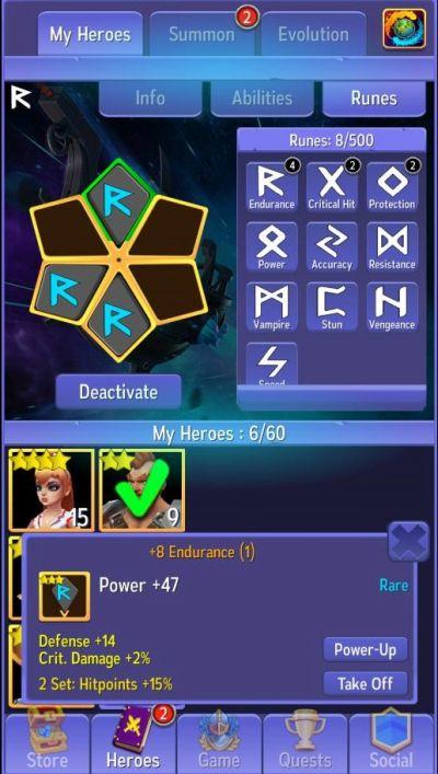 hero masters hints