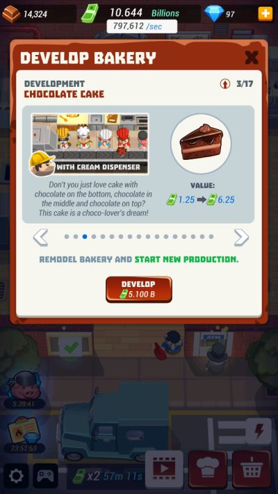 how to develop your bakery in idle cooking tycoon