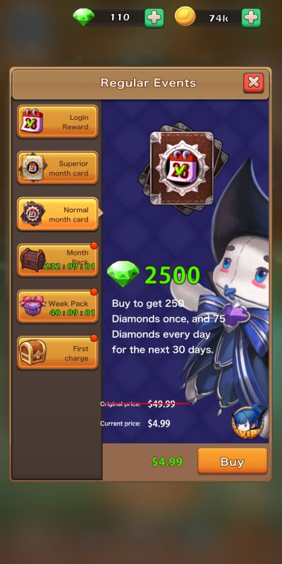 idle summoner events