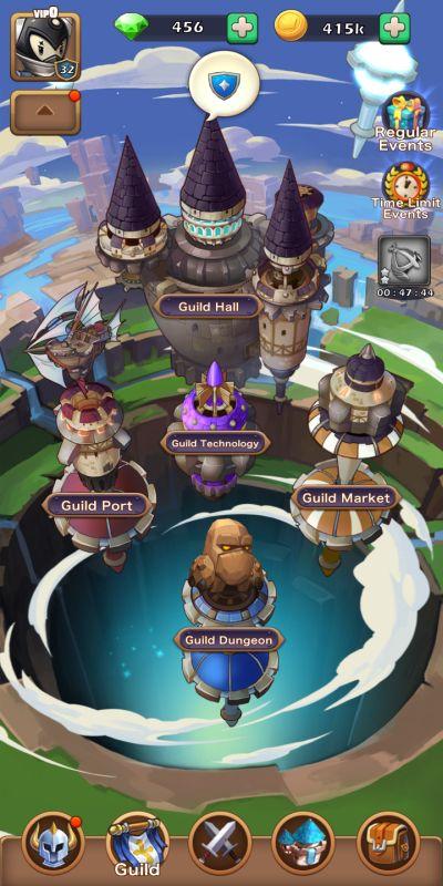 idle summoner guild