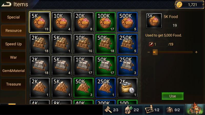 league of lords items
