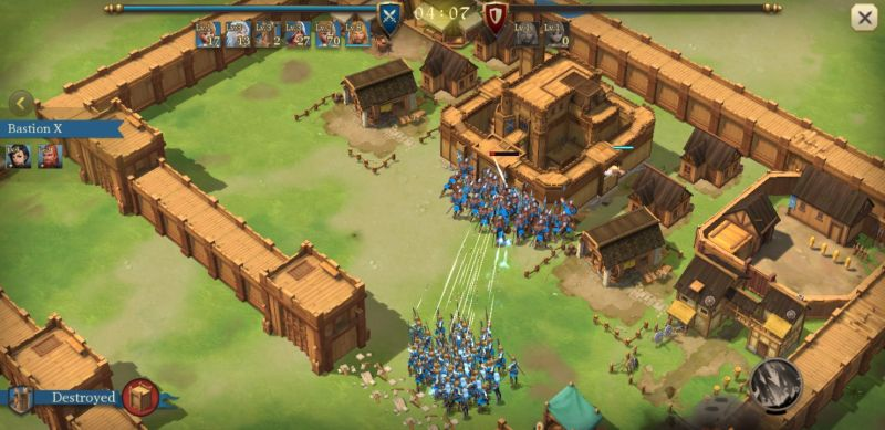 legend rising empire attacking strategy
