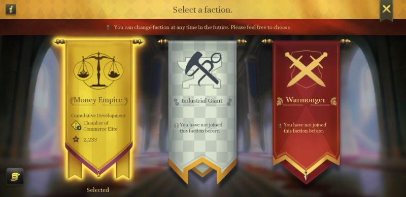 legend rising empire faction
