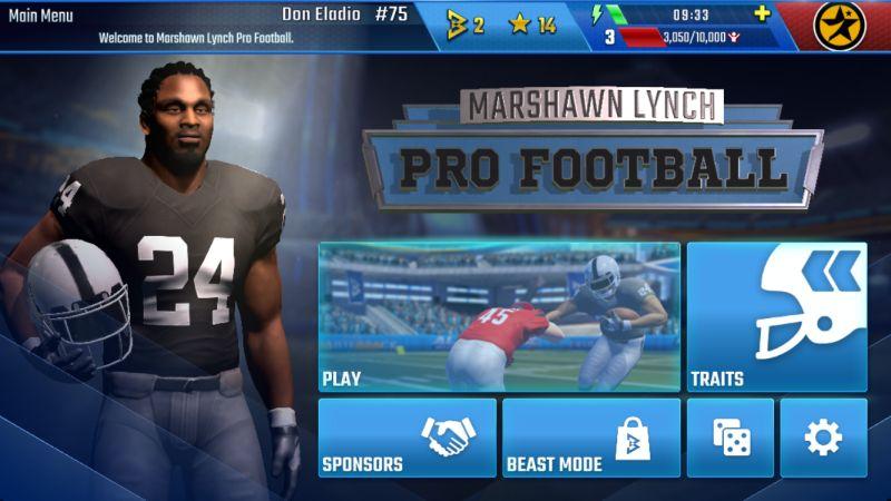 marshawn lynch pro football 19 guide