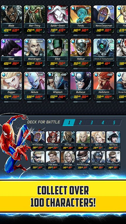 marvel battle lines guide