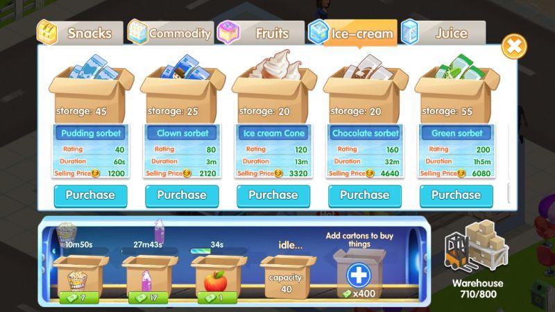 my supermarket story inventory