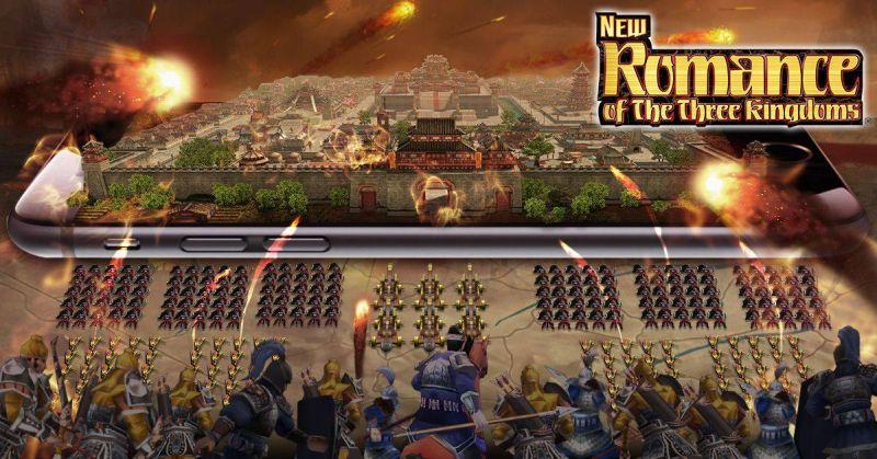 new romane of the three kingdoms