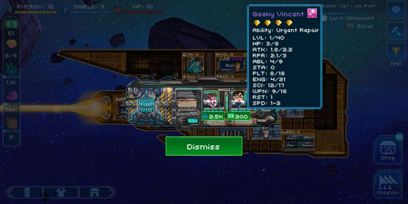 pixel starships goodies