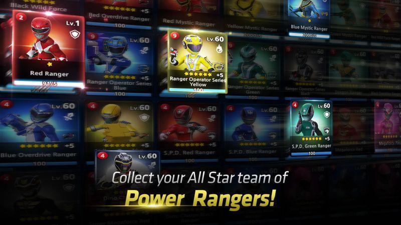 power rangers all stars best team