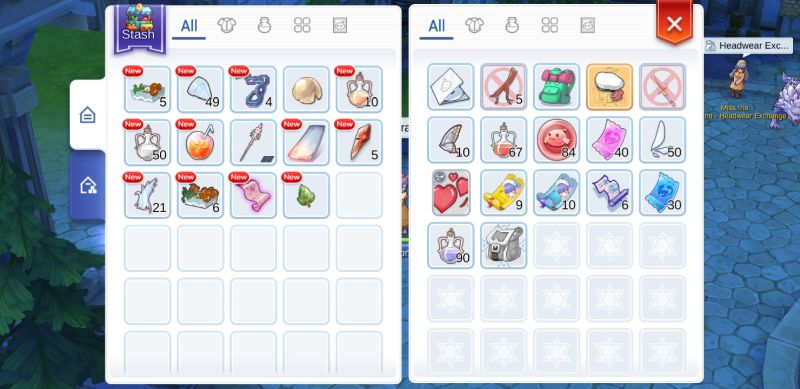 ragnarok m eternal love inventory